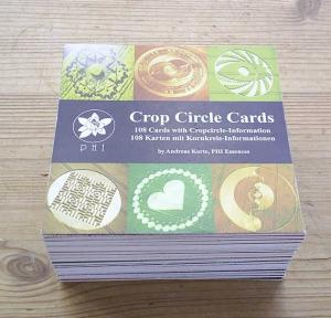 Cropcircle Card-Set (French, Spanish, Japanese Language)