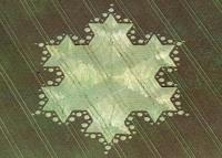 16.) Fractal Star, Silbury Hill, UK (1997)